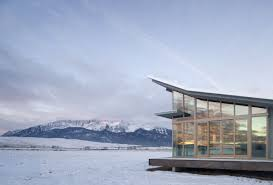 Glass Box House Glass Farmhouse Olson Kundig Architects