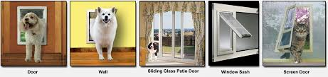 putting cat flap in glass door how to install a doggie door quickly easily u0026 perfectly