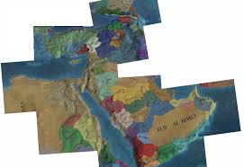 Middle Eastern Map Shitty New Middle East Map Pieced Together Eu4