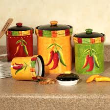 red kitchen canisters glass light up your kitchen with red image of red and yellow kitchen canisters
