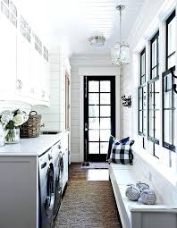 Interior Doors And Trim Black Interior Doors And Trim View In Gallery Laundry Room With