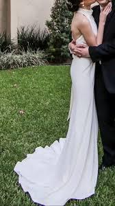 Halter Wedding Dresses Vera Wang Limited Edition High Neck Halter Wedding Dress Wedding