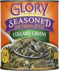 glory foods seasoned southern style collard greens with onions