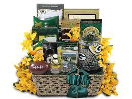 football gift baskets green bay football fan gift basket football gift baskets green