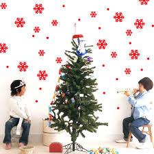 wall window stickers snowflake christmas xmas vinyl art decoration please select color