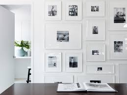 White Wall by Darryl Carter Love The Gallery Wall Of Family Photos With Overly