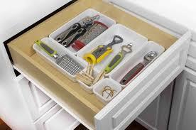 kitchen organizer silverware full kitchen drawer organization