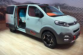 mpv van citroen spacetourer hyphen concept improbably named 4x4 mpv for