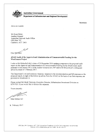 Letter Of Intent Template Construction Project by The Approval And Administration Of Commonwealth Funding For The