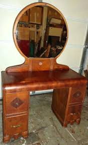 Antique Vanity Table With Mirror And Bench Antique Vanity Dresser With Round Mirror Bestdressers 2017