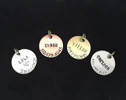 photo engraved dog tags dog name tags etsy