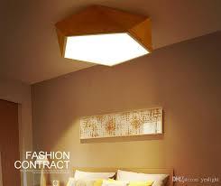 Japanese Ceiling Light 2018 Scandinavian Dome Ceiling Lights Geometric Living Room Simple
