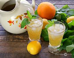 Southern Comfort Lime And Lemonade Name Vintage Iced Tea Punch Southern Plate