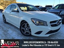 lexus dealer ohio used white 2014 mercedes benz cla class cla250 4matic review nisku