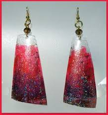 plastic bottle earrings plastic bottle earrings marble diy plastic jewerly