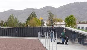 The Wall A Replican Of Washington DCs Vietnam Wall Memorial - Who designed the vietnam wall