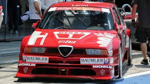 alfa romeo martini racing alfa romeo 155 v6 ti dtm 1994 u0026 nicola larini track action