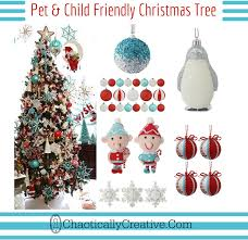 kid and pet friendly tree chaotically creative