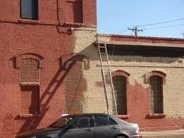repainting exterior brick