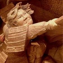 delicate traditional japanese wooden sculptures fubiz media