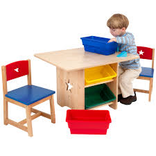 Kidkraft Toy Organizer Furniture Simple Childrens Table And Chair Set Made From