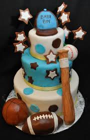 Sports Baby Shower Cake Ideas Baby Shower Cakes