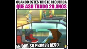 Memes De Pokemon En Espaã Ol - pok礬mon xyz beso de ash ketchum y serena genera hilarantes memes