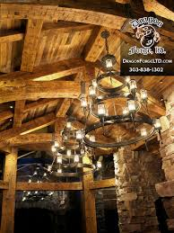 Forged Chandeliers Whitefish Montana Great Room Forged Chandeliers