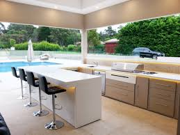 kitchens cool alfresco kitchen ideas fresh home design