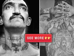 craziest russian prison tattoos and what they mean