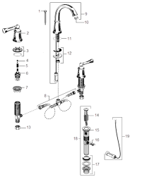 american standard kitchen faucet parts american standard bathroom faucet parts plain home design ideas