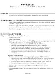Resume Without Picture Sample Resume Without Objective Sample Resume For Fresh Graduate