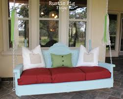 porch swing plans for wonderfully relaxing afternoons