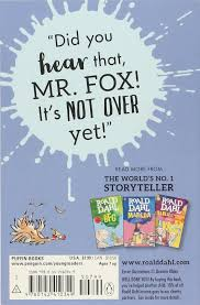 fantastic mr fox study guide fantastic mr fox roald dahl quentin blake 8580001048246