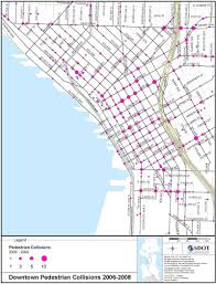 Seattle Traffic Map by Cleanscapes Truck Driver Kills Person Walking Near 8th And James