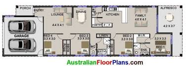 4 bedroom house plans for narrow lots u2013 home ideas decor