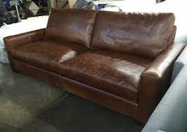 Brompton Leather Sofa 40 Inch Leather Sofa Okaycreations Net In Seated Idea 7