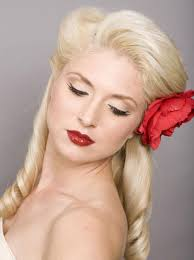 short vintage pin up hair hairstyle picture magz