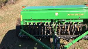 drilling in a seed mixture in pastures youtube