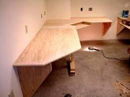 Woodworking Plans Office Chair by Angled Corner Desk Diy Corner Desk Our Office Pinterest