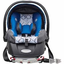 Carseat Canopy For Boy by Evenflo Embrace Select Infant Car Seat With Sure Safe Installation