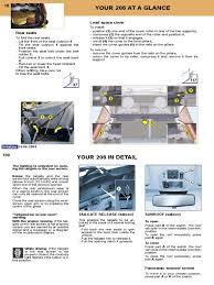peugeot 206 owners manual 2004 anti lock braking system airbag