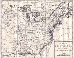 Blank Map Of 13 Colonies by 1785 To 1789 Pennsylvania Maps