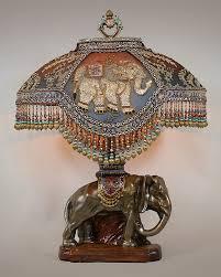 nightshades exotic elephant victorian lampshade