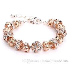 bangle style charm bracelet images Pandora birthstone bracelet style charm bracelets with rose gold jpg