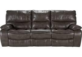 Gray Leather Reclining Sofa WSCRIPTCOM - Ricardo leather reclining sofa