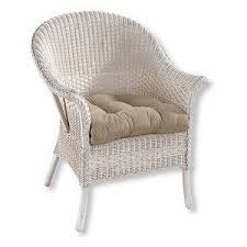 classic wicker chair cushion cushions and pads at l l bean polyvore