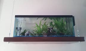make your own hanging l interior small wall mounted acrylic fish tank hanging bowl bubble