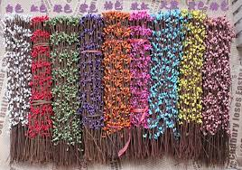 40CM Artificial Rattan Cane Floral Wire Dried Branches With Mini