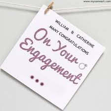congratulate engagement make congratulations card online